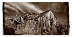 Old Shack Bodie Ghost Town Hand Towel