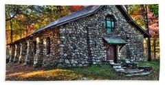 Old Stone Lodge Hand Towel