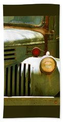 Old Truck Abstract Bath Towel