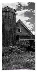 Old Vermont Barn And Silo Hand Towel