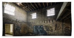 Old Warehouse Interior Bath Towel by Scott Norris