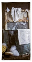 Old Wash Tub Hand Towel