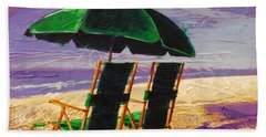 On The Beach Hand Towel