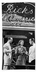 On The Casablanca Set Hand Towel