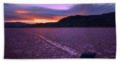 Death Valley Photographs Bath Towels