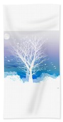 Once Upon A Moon Lit Night... Hand Towel