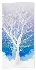 Hand Towel featuring the photograph Once Upon A Moon Lit Night... by Holly Kempe