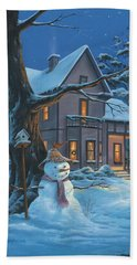Once Upon A Winter's Night Hand Towel