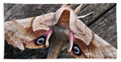 One-eyed Sphinx Bath Towel by Cheryl Hoyle
