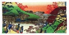 One Hundred Poems - Landscape Hand Towel