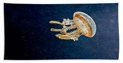 One Jelly Fish Art Prints Bath Towel
