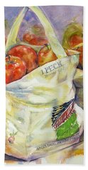 One Peck Hand Towel by Judith Levins