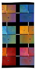 One To Eighteen - Colorful Rust - All Colors Hand Towel