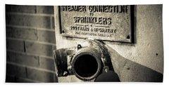 Open Sprinkler Bath Towel by Melinda Ledsome