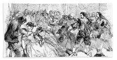 Opera La Traviata, 1856 Hand Towel