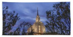 Oquirrh Mountain Temple II Hand Towel