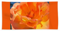 Orange Delight -  Images From The Garden Bath Towel