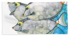 Orangespine Unicornfish Bath Towel