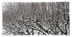 Orchard In Winter Hand Towel