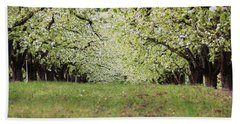 Bath Towel featuring the photograph Orchard by Patricia Babbitt
