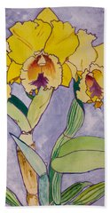 Orchid Study Hand Towel