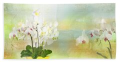 Orchids - Limited Edition 1 Of 10 Bath Towel