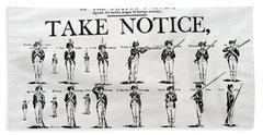 Order Of Battle - Take Notice Brave Men Bath Towel