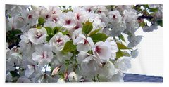 Oregon Cherry Blossoms Hand Towel by Will Borden