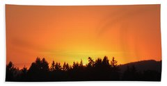 Oregon Sunset Hand Towel