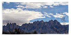 Hand Towel featuring the photograph Organ Mountain Landscape by Barbara Chichester
