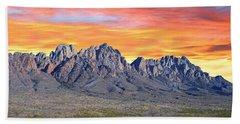 Organ Mountain Sunrise Most Viewed  Bath Towel by Jack Pumphrey