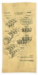 Original Us Patent For Lego Hand Towel by Edward Fielding