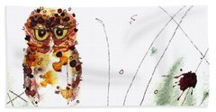 Oscar Bath Towel by Dawn Derman
