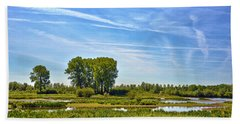 Bath Towel featuring the photograph Ossenwaard Near Deventer by Frans Blok