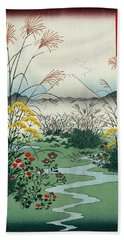 Otsuki Fields In Kai Province Bath Towel