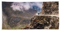 Our Bus Journey Through The Himalayas Bath Towel