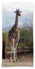 Out Of Africa  Giraffe 1 Bath Towel