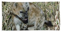 Out Of Africa  Hyena 2 Bath Towel