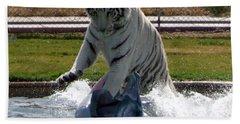Out Of Africa Tiger Splash 1 Bath Towel