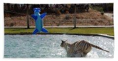 Out Of Africa Tiger Splash 3 Bath Towel