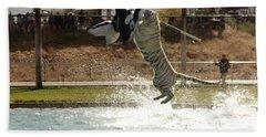 Out Of Africa Tiger Splash 7 Hand Towel