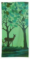 Out Of The Forest Bath Towel by Mary Wolf