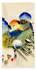 Out Of The Sea - Abstract Bath Towel