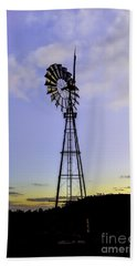 Outback Windmill Hand Towel