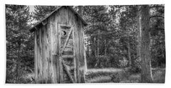 Outhouse Photographs Hand Towels