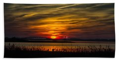 Outer Banks Sunset Hand Towel