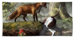 Outfoxed Hand Towel