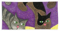 Over Cover Cats Hand Towel