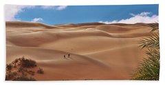 Over The Dunes Bath Towel