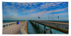 Overseas Highway Florida Keys Hand Towel